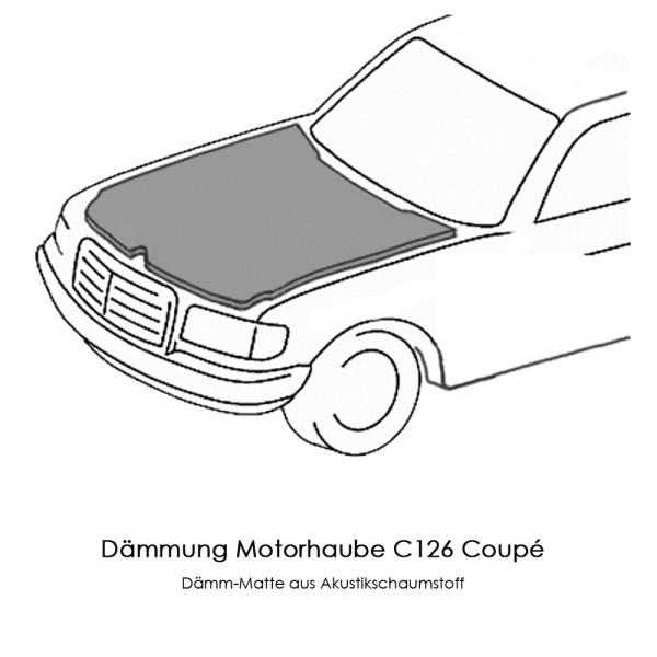 C126 Dämmung Motorhaube