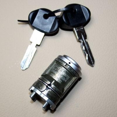 Schließzylinder Zündschloß mit Schlüssel