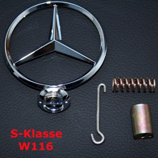 Stern Kühlergrill W116 inkl. Reparatursatz