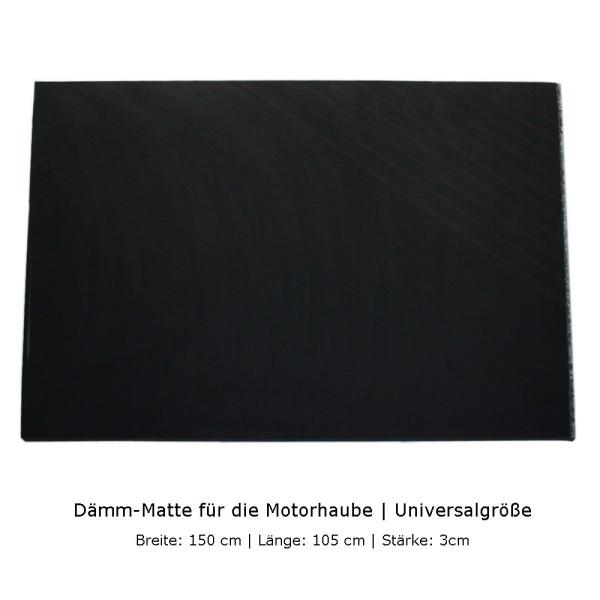 Dämm-Matte für Motorhaube 3cm stark