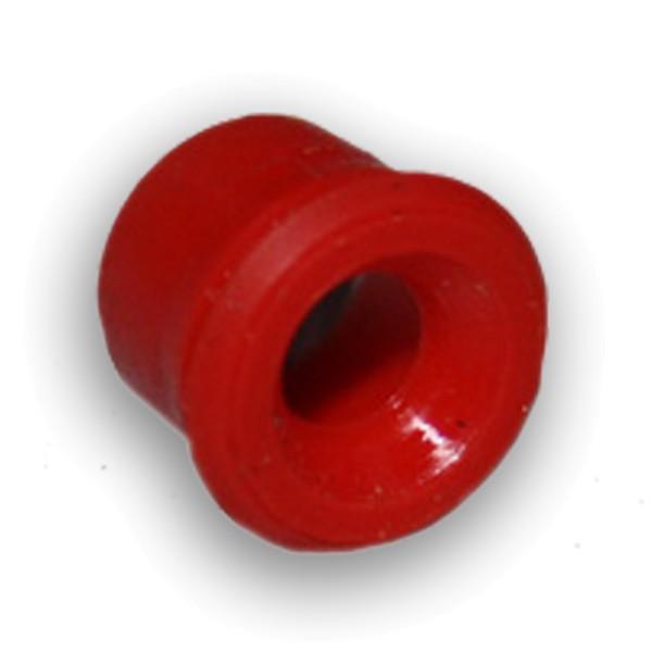 50 Stk Druckknopf Zierleiste rot klein