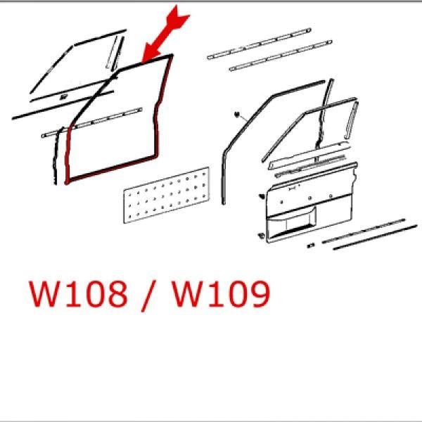 Türdichtung W108 W109 VL