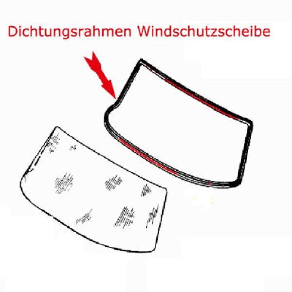 Scheibendichtung Frontscheibe W108 W109