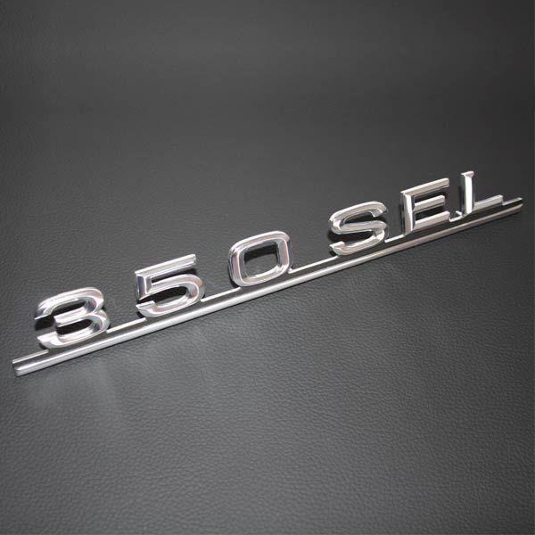 Schriftzug Typenzeichen 350SEL W116