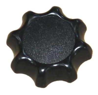 Handrad Sitzverstellung schwarz